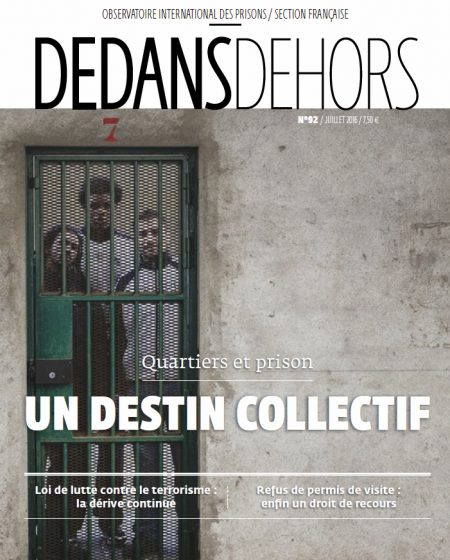 Quartiers et prison : un destin collectif