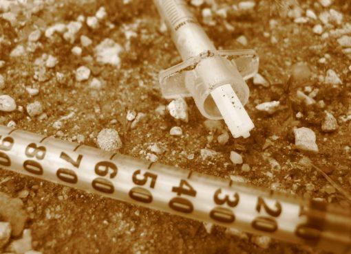 Blocage stérile sur l'échange de seringues