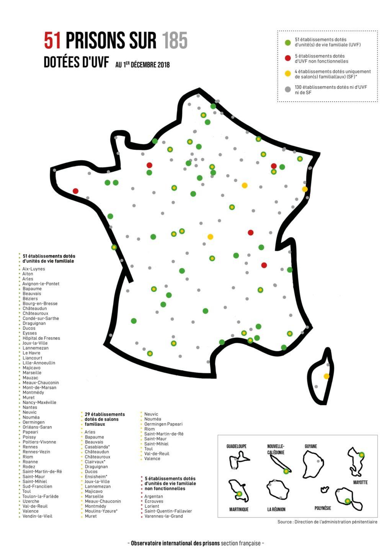 Le sous-équipement des prisons françaises pour les rencontres familiales et amoureuses