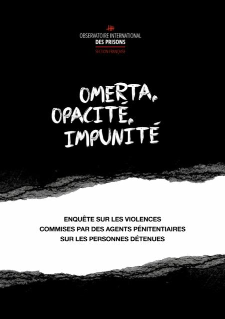 Rapport d'enquête sur les violences commises par des agents pénitentiaires sur les personnes détenues