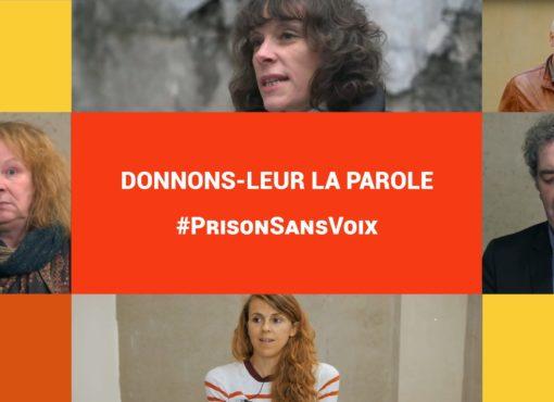 Au-delà des murs des prisons : porter une parole confisquée
